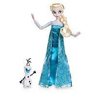 Классическая кукла Эльза с фигуркой Олафа