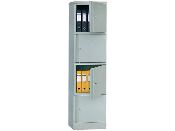 Металлический шкаф для документов ПРАКТИК AM 1845/4, фото 2