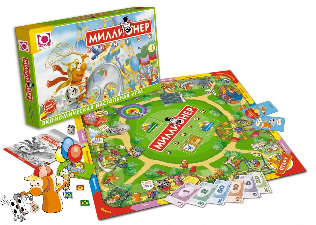 Настольная игра: Миллионер-юниор