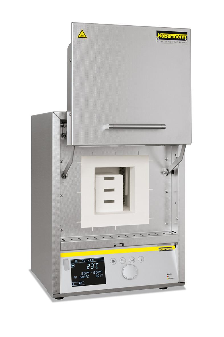 Высокотемпературная печь с обогревом штабелем из карбида кремния и подъемной дверцей HTCT 03/15