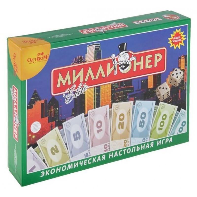 Настольная игра: Миллионер-элит ТК