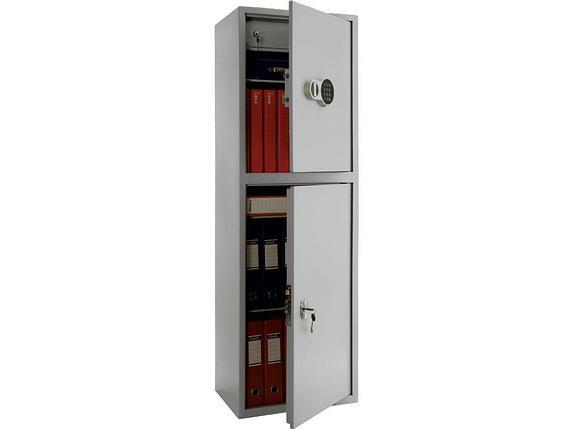 Шкаф бухгалтерский ПРАКТИК SL-150/2Т EL, фото 2
