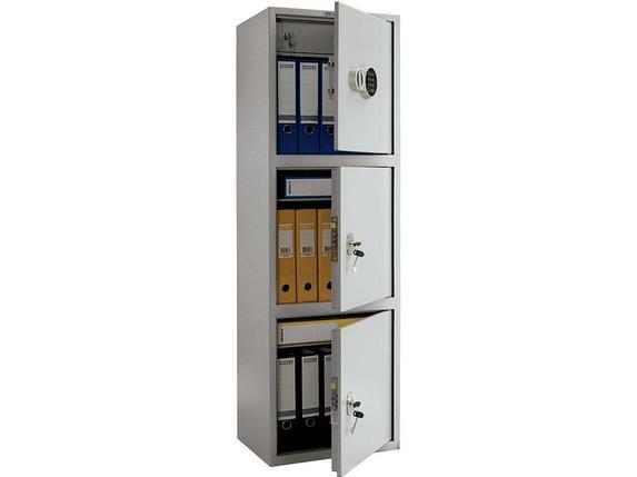 Шкаф бухгалтерский ПРАКТИК SL-150/3Т EL, фото 2