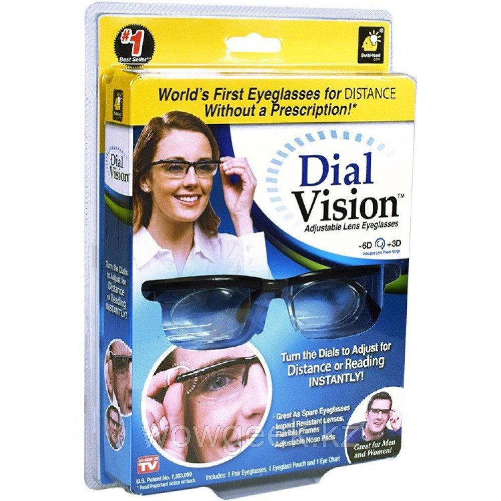 """""""Dial Vision"""" Очки с регулировкой линз"""