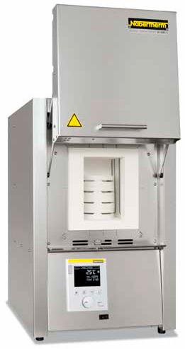 Высокотемпературная печь с нагревательными элементами из MoSi2 LHT 08/16