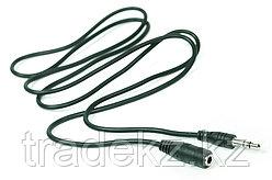 Аудио кабель PowerPlant 3.5 mm M-F 1м