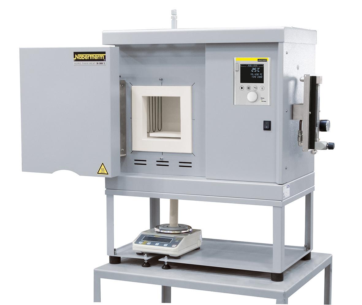 Высокотемпературная печь с весами и программныем обеспечением LHT 04/16SW