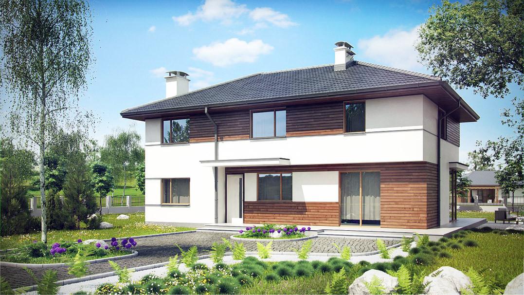 Строительство дома «под ключ» по проекту «Каллисто»