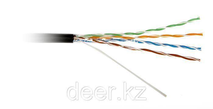 Кабель витая пара R504252 Cat.6A, U/UTP, 4P, 650 MHz, LSZH, O 9.0mm, Eca, 305 m