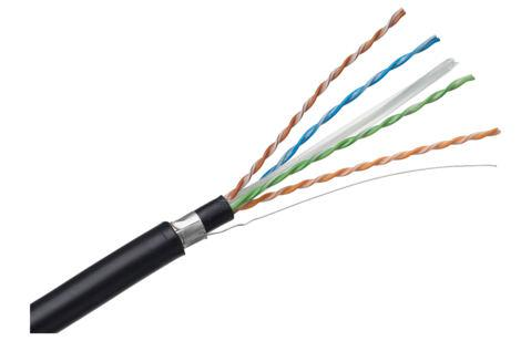 Кабель витая пара R309092 Cat.7, S/FTP, 4P, 1000 MHz, LSFRZH, Dca, CA+, 1000 m