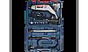 Гравер ЗУБР, 15000-35000 об/мин, цанга 3.2 мм, набор насадок, гибкий вал, штатив, 160 Вт, кейс