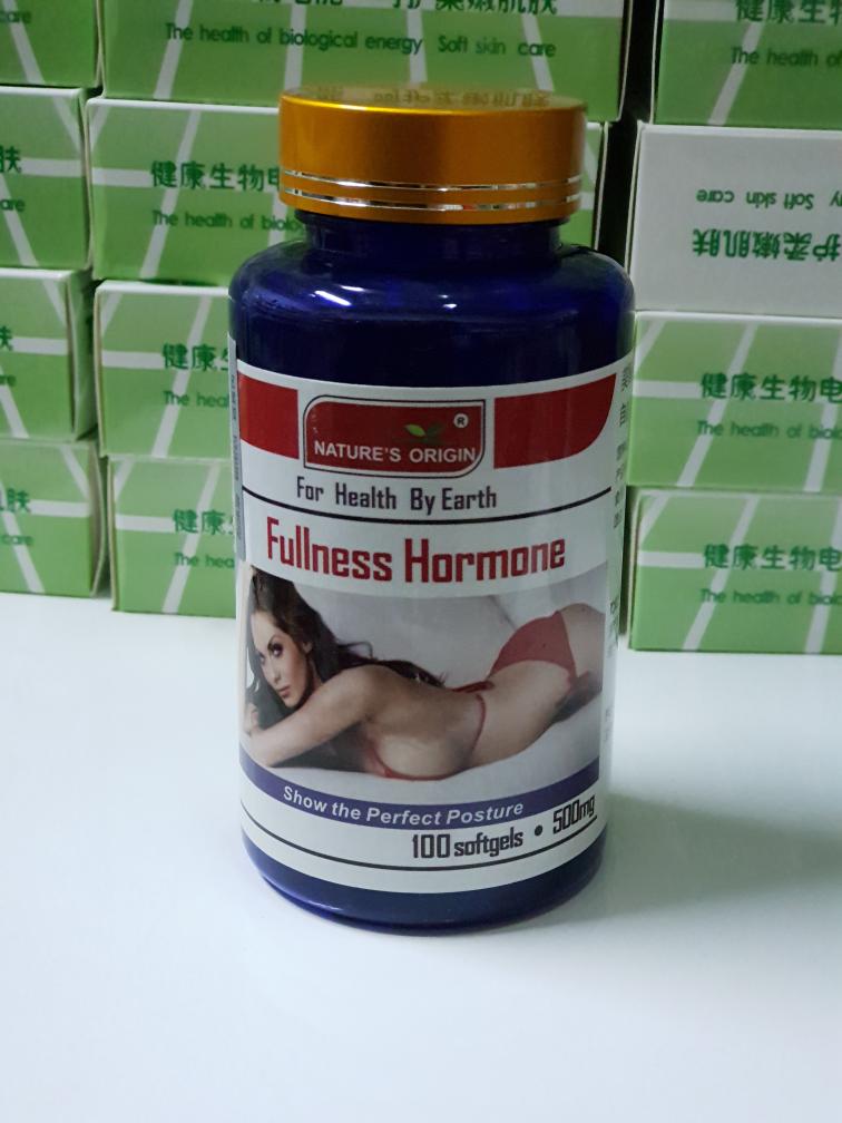 Капсулы Fullness Hormone для увеличения груди и при менопаузе (100 капсул)