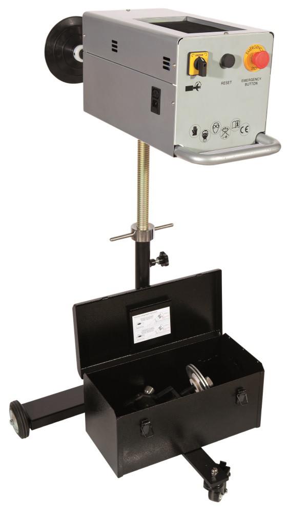 Установка для проточки тормозных дисков в комплекте с аксессуарами Spin 02.003.09