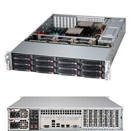Сервер видеонаблюдения 2U, 2xXeon E5-2609v4, 2x8GB DDR4, 10x10TB, 2x240GB, RAID 0,1,5,6,10, 50, 2xGLAN, 2x920W