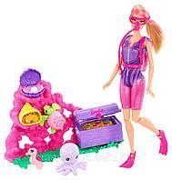 Кукла Барби Карьера дайвера Barbie I Can Be Ocean Treasure Explorer Doll, фото 1