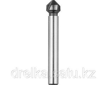 Зенкер ЗУБР ЭКСПЕРТ конусный с 3-я реж. кромками, сталь P6M5, фото 2