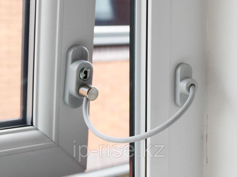 Защита от детей устройство для фиксации окнных блоков
