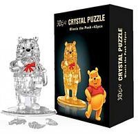 3D Crystal Puzzle Winnie the Pooh, 42pcs Пазл Винни Пух, 42 детали