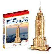 3D Puzzle LingLeSi Empire State Building, 23pcs Пазл Эмпайр Стейт Билдинг, 23 детали