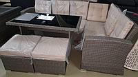 Комплект мебели из ротанга, фото 1