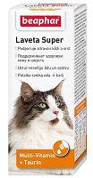Beaphar Laveta Super Cat, Беафар Лавета Супер, мультивитамины для кошек, 50 мл.