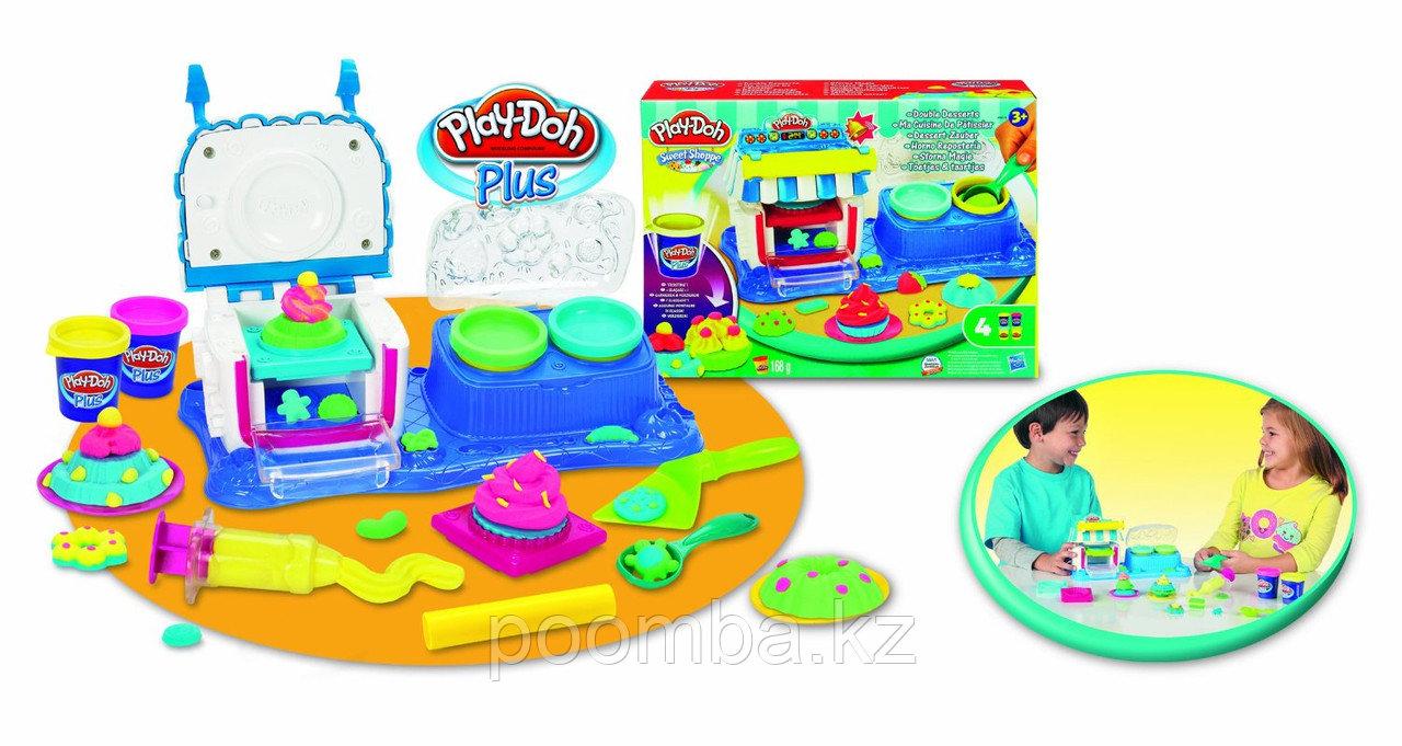 """Набор пластилина """"Двойные десерты"""" Play-Doh"""