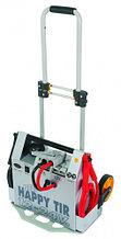 HAPPY TIR NEW - портативный бустер, пусковой ток 4000 А, 12-24 B, 2х22 А*ч., с ЗУ, Spin 03.018.01 (Италия)