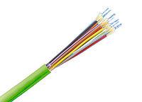 Оптический кабель R512708 Mini Breakout Cable I-V(ZN=B)H, OM4, 24-fibers, 2000м.