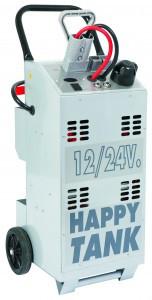 HAPPY TANK - портативный бустер, пусковой ток 6400/3200 А, 12-24 B, 2х54 А*ч., с ЗУ, Spin 03.019.01 (Италия)