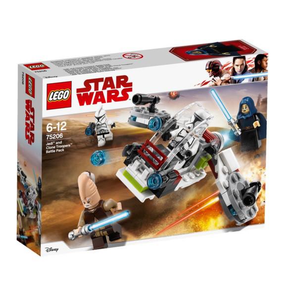 75206 Lego Star Wars Боевой набор джедаев и клонов-пехотинцев, Лего Звездные войны