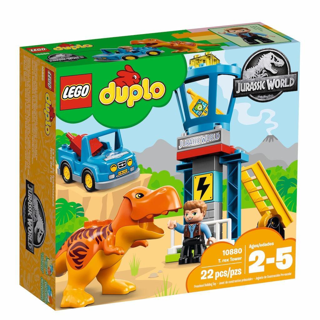 10880 Lego DUPLO Jurassic World Башня Ти-Рекса, Лего Дупло