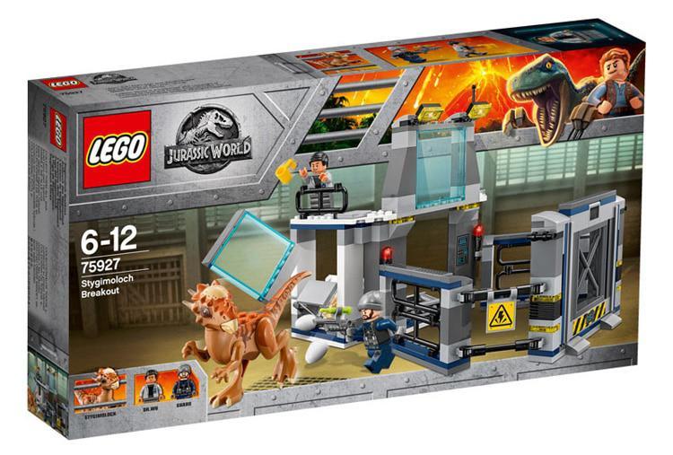 75927 Lego Jurassic World Побег стигимолоха из лаборатории, Лего Мир Юрского периода