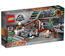 75932 Lego Jurassic World Охота на рапторов в Парке Юрского Периода, Лего Мир Юрского периода