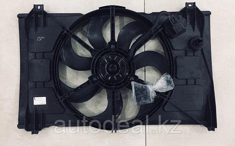 Суппорт радиатора в сборе диффузор