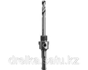 Державка для буровых коронок с твердосплавными резцами ЗУБР 29518, ПРОФИ, для арт. 29514, d>22 мм, SDS +, фото 2