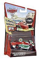 Cars 2 Mattel Francesco Bernoulli Lights and Sounds Тачки 2 Франческо музыкальный, фото 1