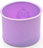 6641 FISSMAN Форма для выпечки кулича 16x12 см, цвет ЛИЛОВЫЙ (силикон)