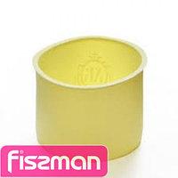 6644 FISSMAN Форма для выпечки кулича 10x8 см, цвет ПАЛЕВЫЙ (силикон)