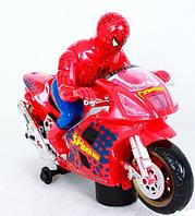 Chuang Xing Motorcycle Spider Man Мотоцикл Человек Паук, звук, свет, движение, фото 1