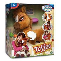Emotion Pets Toffee Pony Интерактивная игрушка Пони Тоффи, из серии Зверюшки с эмоциями