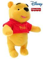 Fisher-Price Disney My Friends Tigger and Pooh Winnie the Pooh Интерактивная игрушка Винни Пух