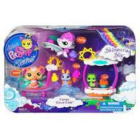 Littlest Pet Shop Fairies Shimmering Sky Candy Cloud Cafe Set, Hasbro Кафе Конфетное облако с феями