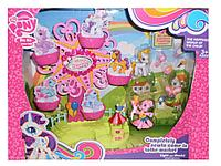 My little Pony Ponyville, Hasbro Игровой набор Колесо обозрения с мини-пони, фото 1