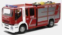 NewRay R/C Iveco Stralis 1:24 27MHz Радиоуправляемая Пожарная машина, красная