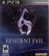 Resident Evil 6 ( PS3 )