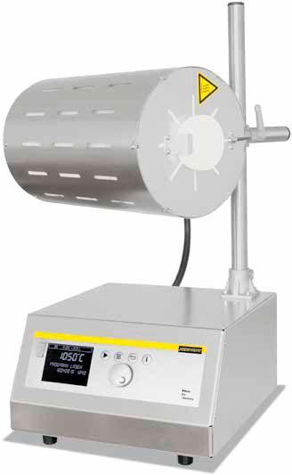 Трубчатая печь со штативом для горизонтального и вертикального режимов RT 50-250/11