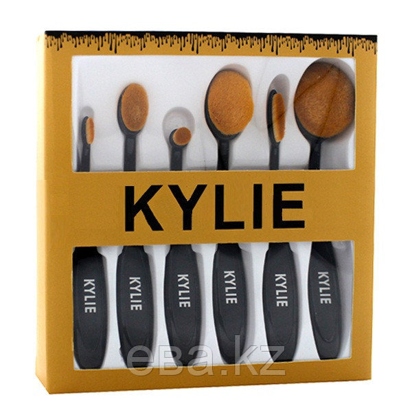 Набор кистей для макияжа Kylie 6 шт