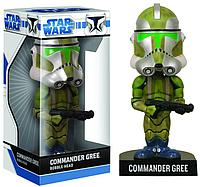 Star Wars Commander Gree Bobble Head Звездные войны Фигурка Командир Гре Бобблед, 18 см