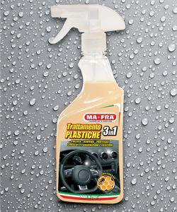 Полироль пластика TRATTAMENTO PLASTIC CARE (3in1)
