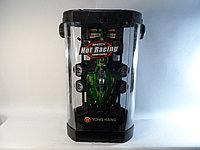 Yong Hang R/C Formula 1 Hot Racing Радиоуправляемая машина Формула 1, с сменными колесами, зеленая